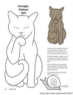 Cat Quilt 43 of 51 Cat Applique, Applique Templates, Applique Quilts, Cat Template, Cat Quilt Patterns, Applique Patterns, Crazy Quilting, Quilting Projects, Sewing Projects