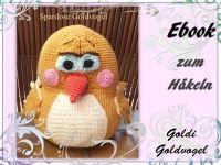Spardose Goldi Goldvogel