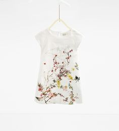 Oriental-print dress-DRESSES AND JUMPSUITS-Girl-Kids | 4-14 years-KIDS | ZARA United States