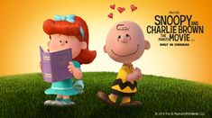 "Snoopy and Charlie Brown are going on their biggest journey ever with the V-Class: ""Snoopy and Charlie Brown: The Peanuts Movie""."