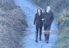 Prince William, Duke of Cambridge and Catherine, Duchess of Cambridge walk the cliff walk at Howth on March 2020 in Dublin, Ireland. Get premium, high resolution news photos at Getty Images William Kate, Kate Middleton Prince William, Prince William And Catherine, Duchess Kate, Duke And Duchess, Duchess Of Cambridge, Catherine Cambridge, Westminster, Royal News