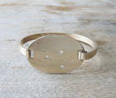 Sagittarius Brass Constellation Bracelet by Julie Nolan. I really want this.