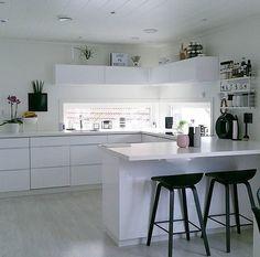 Interior Home Lovers ( Interior Design Kitchen, Luxury Kitchens, Beautiful Kitchens, Home Kitchens, Home, Interior, Kitchen Room, Kitchen Views, Cool Kitchens