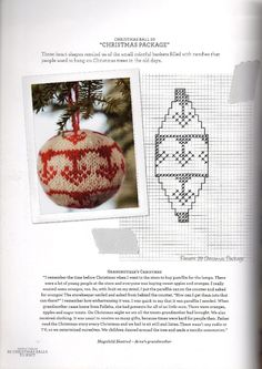 Мужчины тоже вяжут…Новый год…( Christmas Balls to Kn… , - knittings christmas Cross Stitch Christmas Ornaments, Christmas Tree Pattern, Christmas Baubles, Holiday Ornaments, Christmas Crafts, Knitting Charts, Knitting Patterns, Christmas Scents, Christmas Knitting