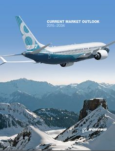 I'd like to share '' Current Market Outlook 2015–2034  ''  reported by BOEING. Business and Market Environment Market Fragmentation Traffic & Market Outlook