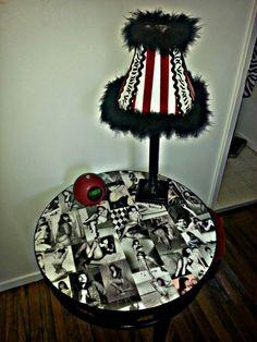 DIY Bettie Page Table