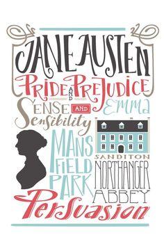 Jane Austen's books