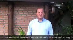WHAT IS SOCIAL PRO REVOLUTION COACHING MOVEMENT -- Tom O.Riordan Explains -- TO SEE IF YOU QUALIFY For The Social Pro Revolution Coaching Movements Free One-on-One Personal Coaching And Video Training Worth Over $1,000 CONTACT ME Using Free Skype: Dave D. Williamson (Skype Username: davedwilliamson) - If You're Not Familiar With Skype,   Dave D. Williamson  (Free Dave) Founder - Social Pro Revolution