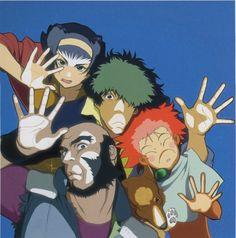 Toshihiro Kawamoto, Sunrise (Studio), Cowboy Bebop, Ein, Spike Spiegel