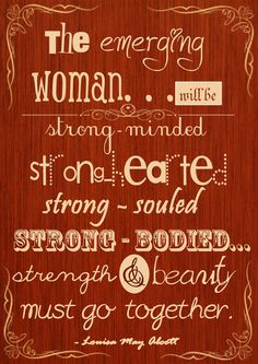 A quote from Louisa May Alcott in her novel called 'Old-fashioned Girl'.  visit http://zellkrism.blogspot.com/