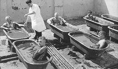 Naftalan health centre    crude oil bath