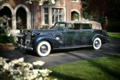 '38 V-12 Packard, one of twenty-five.