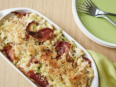 Macaroni and Cheese Carbonara Recipe : Food Network Kitchen : Food Network - FoodNetwork.com