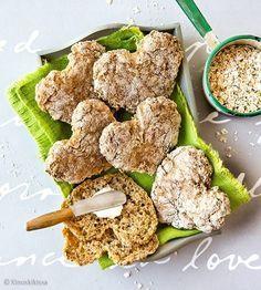 feed_image Gluten Free Baking, Vegan Baking, Healthy Baking, Savoury Baking, Bread Baking, Heathy Sweets, Scandinavian Food, Salty Foods, Snack Recipes
