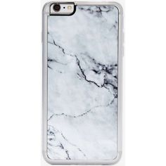 Zero Gravity Marble iPhone 6 Plus Case (€25) ❤ liked on Polyvore featuring accessories, tech accessories, phone, phone cases, fillers, cases, grey and zero gravity