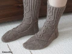Hovineito Socks, Knitting, Fashion, Hosiery, Moda, Tricot, Cast On Knitting, Fasion, Stockings