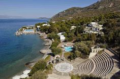 Wyndham Poseidon Resort, is located just a breath away from Athens & the world renowned historical sites such as Epidaurus , Mycenae, Nafplio etc Hotels In Athens Greece, Poseidon Resort, Mycenae, Beautiful Hotels, Find Hotels, Historical Sites, Natural Beauty, World, Places
