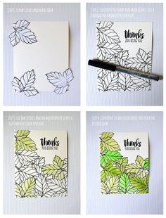 Connie Collins - watercolor Tip -  Global Design Project, ink refills, leaf card, Rose Wonder, Suite Sayings, watercolor