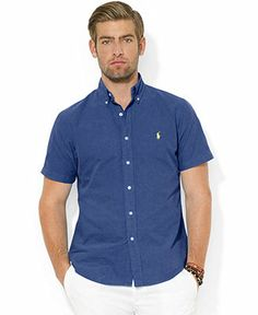 Polo Ralph Lauren Custom Fit Sport Shirt | Style Savvy | Pinterest ...