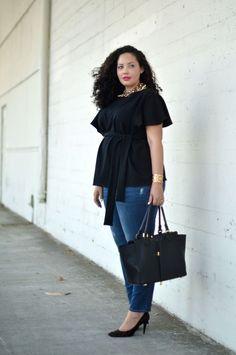 Taille plus abordable vêtements à la mode pour les femmes en surpoids élégants  