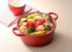 簡単+トマト味の野菜ポトフ鍋 (レシピNo.2701)|ネスレ バランスレシピ