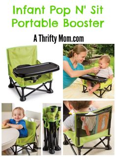 Summer Infant Pop N' Sit Portable Booster Seat
