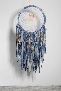 Spoke Woven Denim Dreamcatcher