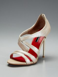 A great neutral to have in your shoe closet. Jillian Sandal by Charles Jourdan on Gilt.com