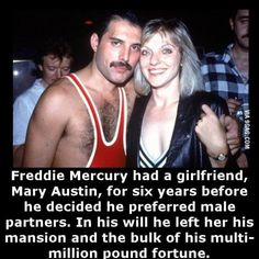 Seems legit Freddie Mercury once had a girlfriend. The More You Know, Did You Know, Wtf Fun Facts, Strange Facts, Crazy Facts, Random Facts, Queen Freddie Mercury, Best Funny Pictures, Random Pictures