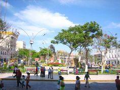 Beautiful Chiclayo, Peru. Plaza de Armas