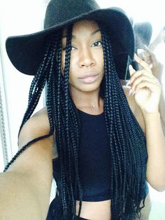 Box Braids Half Top Knot - Top 20 Box Braids Updo Hairstyles - The Trending Hairstyle Braided Hairstyles Updo, Crown Hairstyles, Braided Updo, Protective Hairstyles, Protective Styles, Box Braids Updo, Red Box Braids, Twist Box Braids, Long Box Braids
