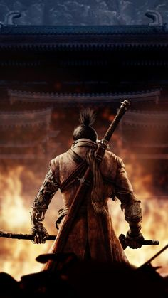 Sekiro Shadows Die Twice is an action-adventure video game developed by FromSoftware and published by Activision. Fantasy Landscape, Fantasy Art, Arte Dark Souls, Witcher Wallpaper, Samurai Wallpaper, Character Art, Character Design, Ghost Of Tsushima, Samurai Artwork