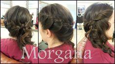 Peinado Novia Morgana