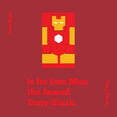 I for Iron Man