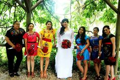My bridesmaids & I @ the Palomares Adobe. Mexican Wedding