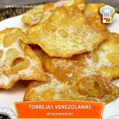 Queriendo rescatar un poco de nuestra tradición nuestras famosas Torrejas, una receta nada complicada, de muy bajo costo y fáciles de hacer.