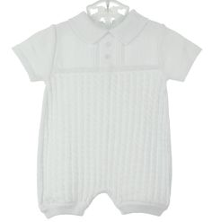 Will'Beth,WillBeth,white cotton knit romper,portrait outfit,beach portrait outfit,ring bearer outfit,christening,christening outfit,boy christening outfit,boy christening,baby christening outfit,christening suit,christening romper,christening clothing,baby boy christening outfit,baby boy christening,infant christening,baptism outfit,boy baptism outfit,baby boy,heirloom style boys outfit,boys special occasion,baptism outfit,baby baptism outfit