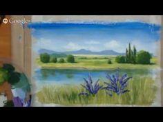 Открытый урок по правополушарному рисованию РИСУЕМ ЛЕТО 10апр2015 - YouTube