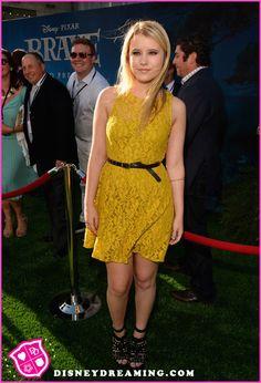 "Taylor Spreitler At Disney Pixar's ""Brave"" Movie Premiere"