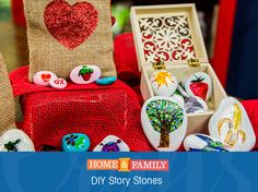 Story Stones -  Create interactive story time with your kids using @tmemme28's Story Stones! For more crafts & DIYs, tune in to Home and Family weekdays at 10/9c on Hallmark Channel!