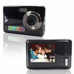 """Digital Zoom  Digital Camcorder  This camcorder has a 1/4 ~ 1/1800 sec electronic shutter, 16x digital zoom, auto sensitivity, 3.0"""" TFT Color LCD, 1.5m to unlimited focus range, many language options and white balance."""