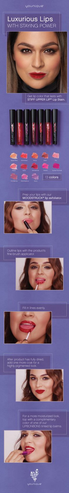 Luxurious Lips with Staying Power