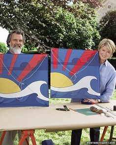 Making a Kite Tutorial from Martha Stewart