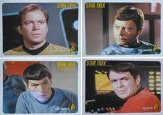 Cards - Star Trek Tos 40th Anniv Series 2 - Coleção Completa