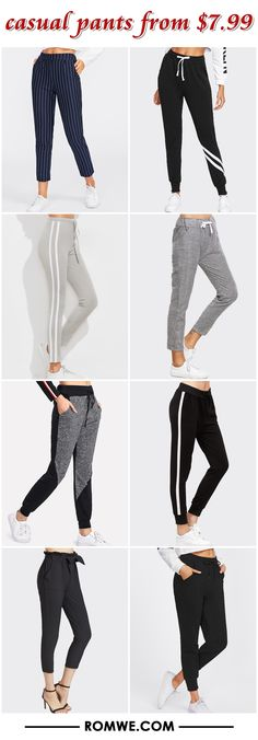 casual pants from $7.99