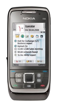 Nokia E66 Smartphone Silber Slider UMTS WLAN OVP Guter Zustand