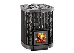 Saga wood burning sauna heater from Kastor for a genuine and authentic sauna experience. Best Wood Burning Stove, Wood Burning Heaters, Sauna Wood Stove, Sauna Lights, Hearth Pad, Stove Board, Traditional Saunas, Sauna Heater, Outdoor Sauna