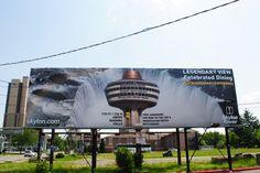 New branding for Skylon Tower Tower Falling, Niagara Falls, Deck, Branding, Studio, World, Design, The World, Front Porches