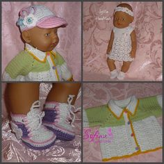 A collection of 4 Master class for dolls the Baby Born