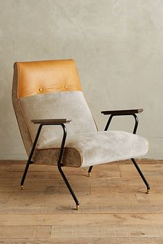 Velvet Quentin Chair #anthropologie